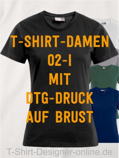 T-Shirt-Damen-02-I-mit-DTG-Druck-auf-Brust-Schwarz