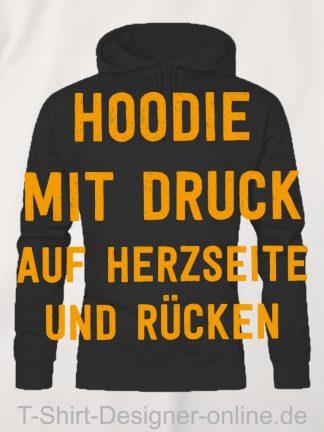 T-Shirt-Designer-Online-Shirts-mit-Siebdrucktransfer-Hoodies-Herzseite-Rücken