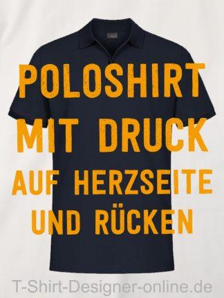 T-Shirt-Designer-Online-Shirts-mit-Siebdrucktransfer-Poloshirts-Rücken-Herzseite