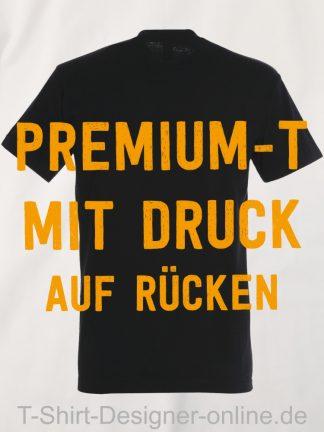 T-Shirt-Designer-Online-Shirts-mit-Siebdrucktransfer-Premium-T-Rücken